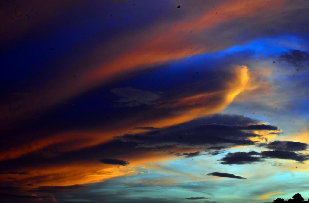 Закат в Коста-Рике
